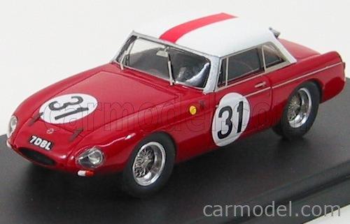PINKO PI165 Masstab: 1/43  MG B SPIDER HARD TOP N 31 LE MANS 1963 RED WHITE