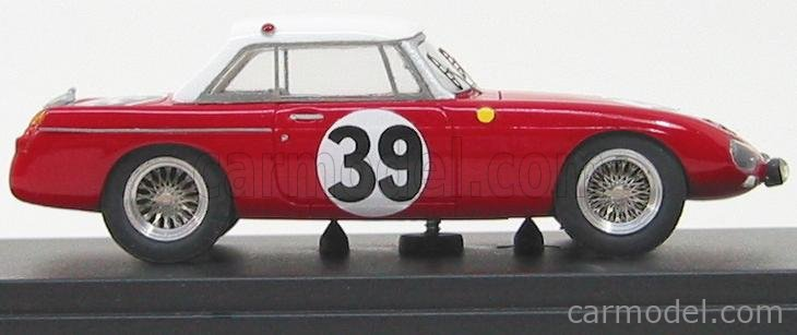 PINKO PI167 Masstab: 1/43  MG B SPIDER HARD TOP N 39 LE MANS 1965 RED WHITE