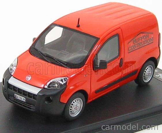 RACING43 43EL999 Scale 1/43  FIAT FIORINO VAN 2008 ORANGE