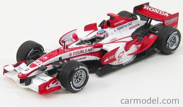 MINICHAMPS 400070022 Echelle 1/43  SUPER AGURI F1  SA07 N 22 RACE VERSION T.SATO 2007 WHITE RED