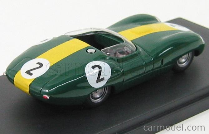 PINKO PI163 Masstab: 1/43  LISTER JAGUAR COSTIN N 2 SPIDER LE MANS 1959 BRITISH RACING GREEN