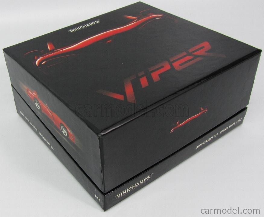 Dodge Viper Anniversary Set 1993-2003 436144000 1:43 Model