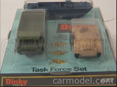 DINKY ENGLAND GS677 Echelle 1/50  DINKY TASK FORCE GIFT SET 3X MILITARY