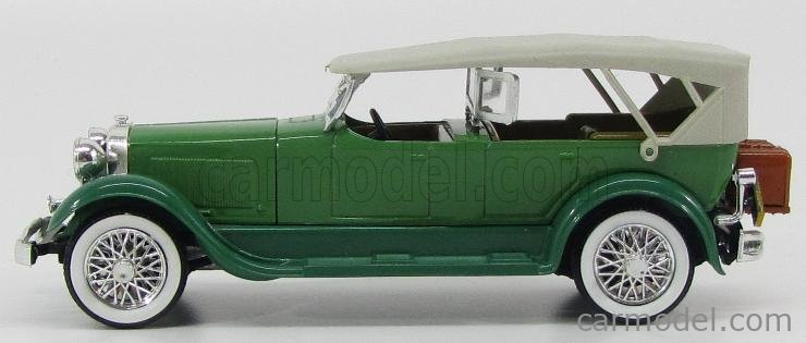 RIO-MODELS 50 Scale 1/43  LINCOLN SPORT PHAETON 1928 GREEN GREY