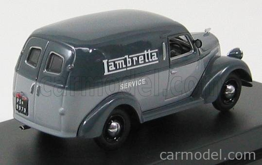STARLINE MODELS 570350 Scala 1/43  LANCIA ARDEA 800 FURGONCINO VAN 1951 - LAMBRETTA SERVICE 2 TONE GREY