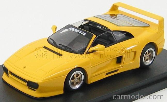 Bbr Models Bbr212b Masstab 1 43 Ferrari F48 Koenig Spider Yellow