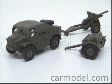 DINKY ENGLAND GS697 Echelle 1/50  TRUCK 25 POUNDER GIFT SET MILITARY GREEN