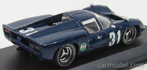 BEST-MODEL 9158 Scale 1/43  LOLA T70 COUPE N 31 1000km SPA 1968 EPSTEIN - LIDDEL BLUE