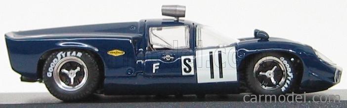 BEST-MODEL 9172 Scale 1/43  LOLA T70 COUPE N 11 SEBRING 1968 DE UDY - DIBLEY BLUE