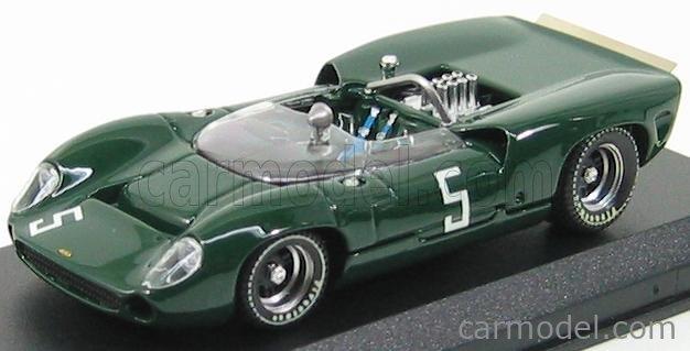 BEST-MODEL 9194 Scale 1/43  LOLA T70 SPIDER N 5 MOSPORT 1965 H.DIBLEY GREEN