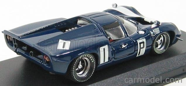 BEST-MODEL 9210 Scale 1/43  LOLA T70 COUPE N 1 NURBURGRING 1967 SURTEES - HOBBS BLUE WHITE