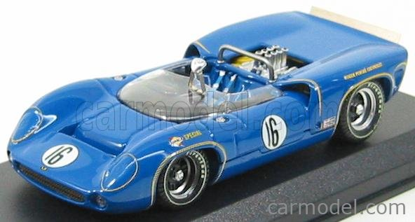 BEST-MODEL 9214 Scale 1/43  LOLA T70 SPIDER N 16 ST.JOVITE 1966 M.DONOHUE BLUE