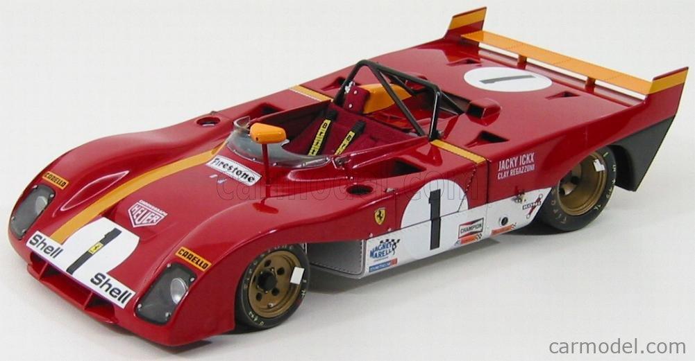 GMP G1804109 or G1804108 FERRARI 312 Prototype model car black or red 1972 1:18