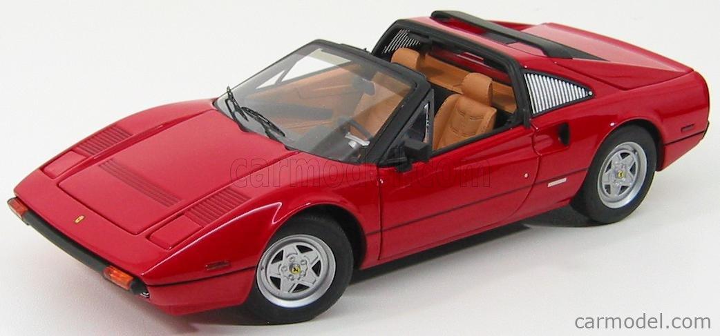 Mattel Hot Wheels P9908 Masstab 1 18 Ferrari 308 Gts Spider Personal Car Tom Sellek Magnum P I Prima Serie 1979 Red