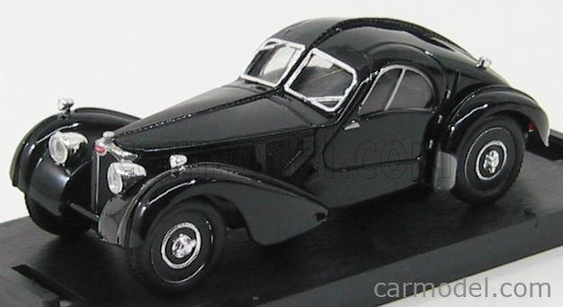 BRUMM R088-01-UPD Echelle 1/43  BUGATTI 57S ATLANTIC COUPE 1934 BLACK