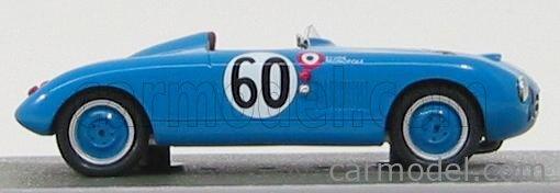 BIZARRE BZ529 Masstab: 1/43  PANHARD MONOPOLE X84 SPORT N 60 24h LE MANS 1951 J.DE MONTREMY - J.HEMARD BLUE