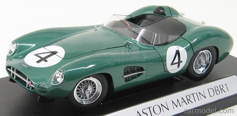 Shelby Collectibles 01109 04 Masstab 1 18 Aston Martin Dbr1 300 Team David Brown Racing Dept N 4 2nd 24h Le Mans 1959 S Moss J Fairman Green Met