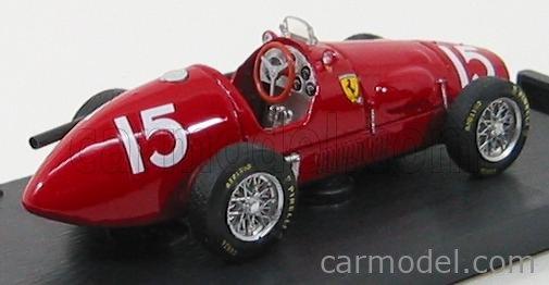 BRUMM R035-UPD Echelle 1/43  FERRARI F1 500 F2 N 15 A.ASCARI 1952 WORLD CHAMPION RED