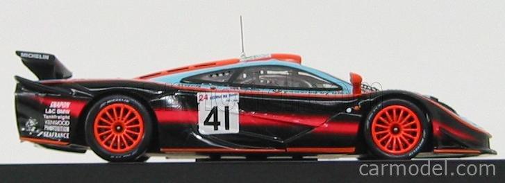 Echelle 1//43 V/éhicule Miniature Le Mans 1997 Ixo LMM106 Laren F1 GTR MC Gulf