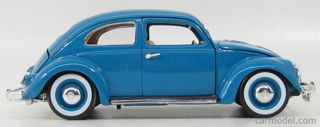 BURAGO BU12029BL Echelle 1/18  VOLKSWAGEN KAFER BEETLE 1955 BLUE