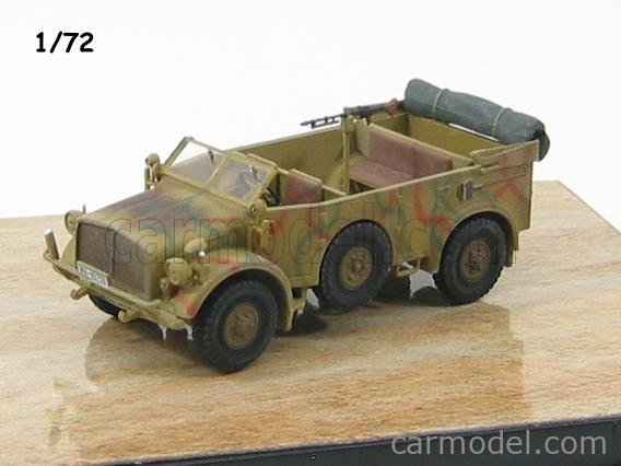 DRAGON ARMOR 60502 Echelle 1/72  HORCH HEAVY UNIFORM PERSONNEL VEHICLE TYPE 40 1943 MILITARY GREEN