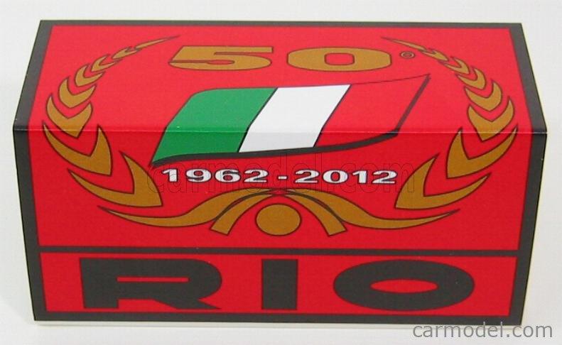 RIO-MODELS 4050 Масштаб 1/43  ITALA 1907 50th ANNIVERSARY RIO 1962-2012 GOLD