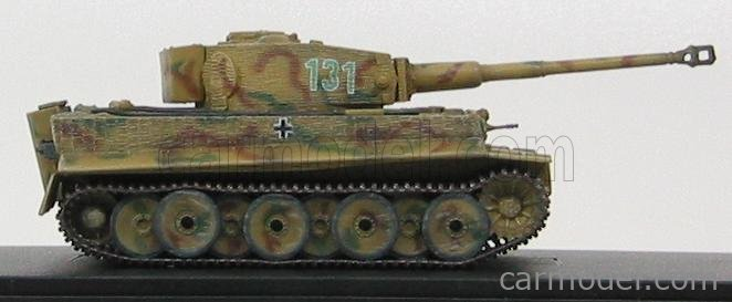 DRAGON ARMOR 60416 Echelle 1/72  TANK TIGER I sd.Kfz. 181 MID PRODUCTION w/ZIMMERIT WESTERN FRONT 1944 MILITARY CAMOUFLAGE