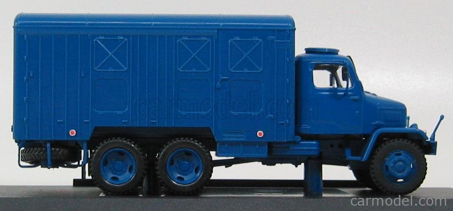 ABREX 143T-004KH Echelle 1/43  PRAGA V3S CONTAINER TRUCK 1953 BLUE