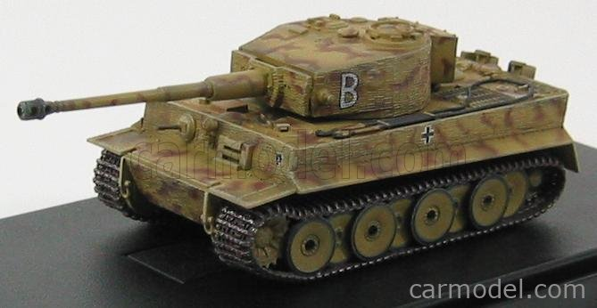 DRAGON ARMOR 60417 Echelle 1/72  TANK TIGER I sd.Kfz. 181 MID PRODUCTION w/ZIMMERIT POLAND 1944 MILITARY CAMOUFLAGE