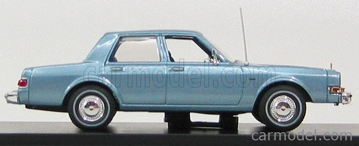 FIRST-RESPONSE DIP004 Scale 1/43  DODGE DIPLOMAT 1985 + POLICE PACKAGE LIGHT BLUE MET
