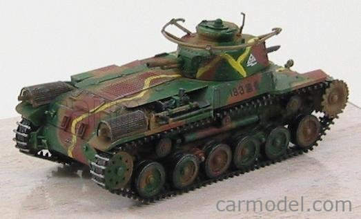 DRAGON ARMOR 60432 Echelle 1/72  TANK IJA TYPE 97 CHI-HA EARLY PRODUCTION Co.4 34th TANK REGIMENT NORTH CHINA 1945 MILITARY CAMOUFLAGE