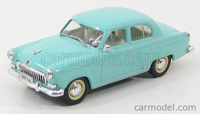 NASH-AVTOPROM P101LBL Scale 1/43  GAZ GAZ-M21 1958 LIGHT BLUE