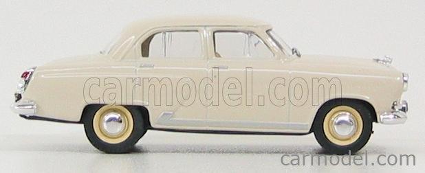 NASH-AVTOPROM P101IV Masstab: 1/43  GAZ GAZ-M21 1958 IVORY