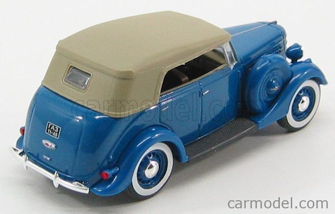NASH-AVTOPROM H160BL Masstab: 1/43  GAZ GAZ-11-40 CABRIOLET CLOSED BLUE