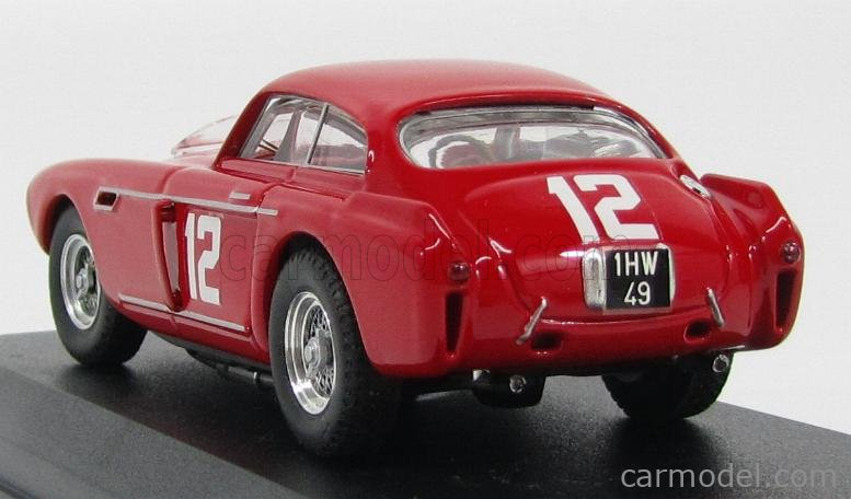 ART-MODEL ART244 Scala 1/43  FERRARI 340 MEXICO COUPE N 12 OFFUTT 1953 SHELBY - McAFEE RED
