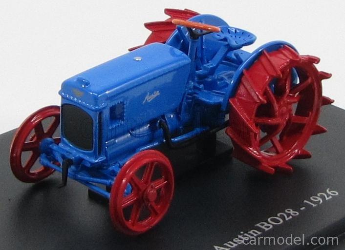 EDICOLA TRACOL010 Echelle 1/43  AUSTIN BO28 TRACTOR 1926 BLUE RED