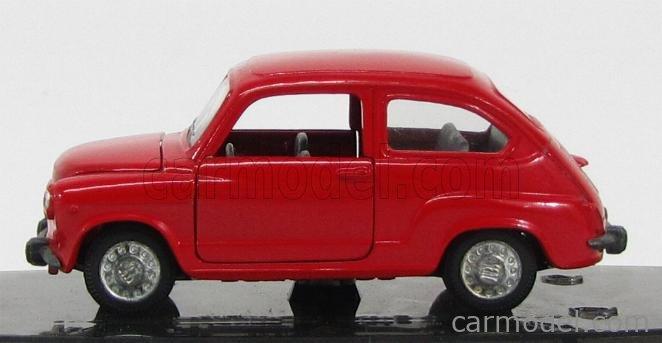 PILEN 335 Echelle 1/43  SEAT FIAT 600 (3 ISSUE) RED
