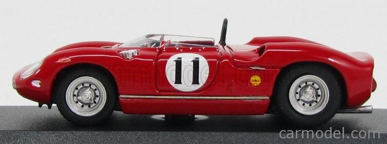 ART-MODEL ART251 Echelle 1/43  FERRARI 250P SPIDER N 11 RIVERSIDE 1963 J.SURTEES RED