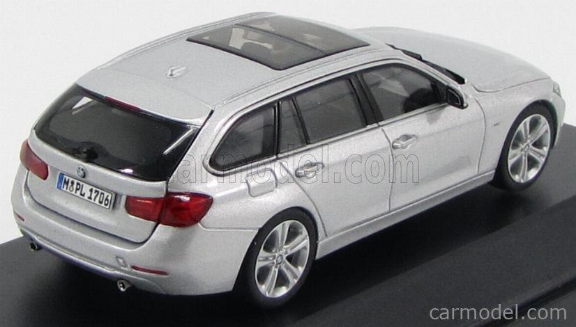 JADI 80422244265 Scale 1/43  BMW 3-SERIES 335i TOURING (F31) 2012 GLACIER SILVER