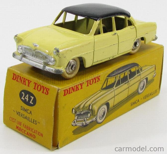 DINKY FRANCE 24Z Масштаб 1/43  SIMCA VERSAILLES YELLOW BLACK