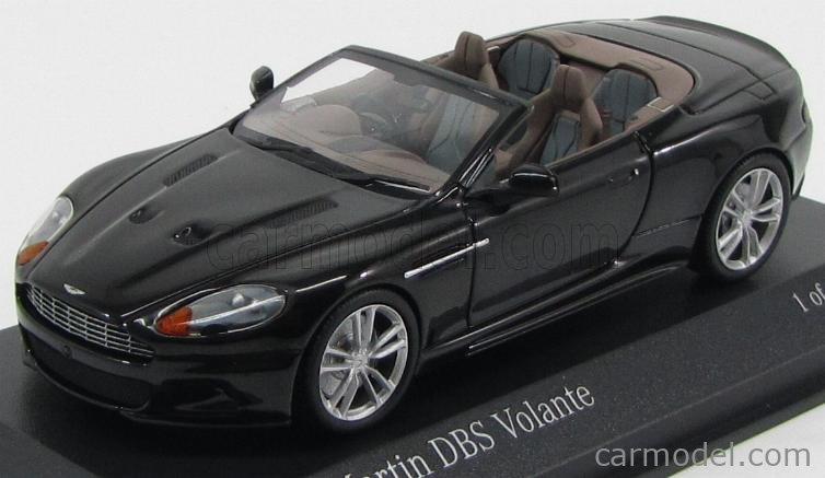 Minichamps 400137930 Masstab 1 43 Aston Martin Dbs Volante Spider 2010 Black