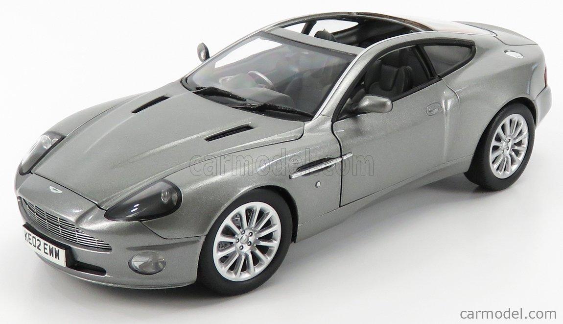 Beanstalk 10011 Masstab 1 18 Aston Martin V12 Vanquish 007 James Bond Die Another Day Grey Met