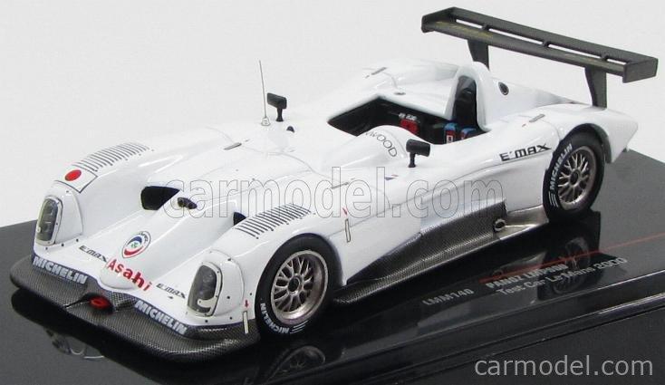 IXO-MODELS LMM140 Scale 1/43  PANOZ LMP900 TEAM TV TVASAHI DRAGON TEST CAR N 00 24h LE MANS 2000 WHITE