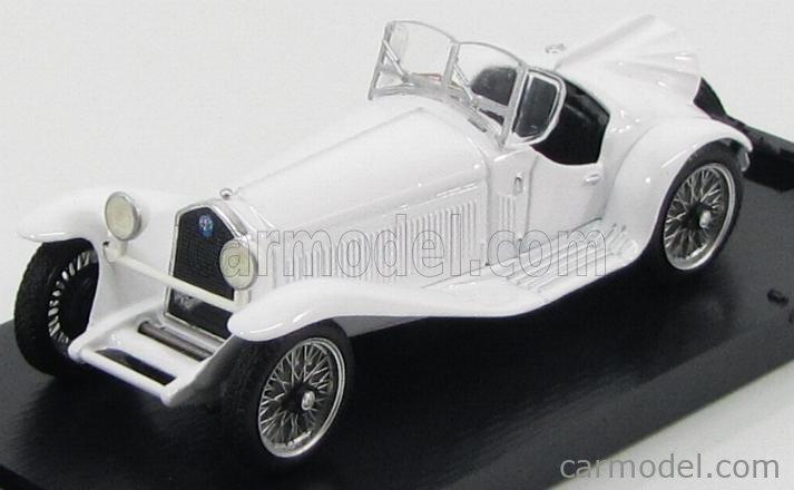 BRUMM R077-02 Echelle 1/43  ALFA ROMEO 2300 SPIDER 1931 WHITE