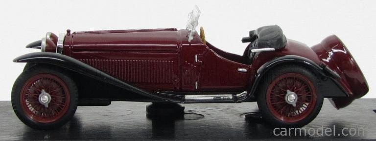 BRUMM R138-02 Escala 1/43  ALFA ROMEO 2300 1931 BORDEAUX BLACK