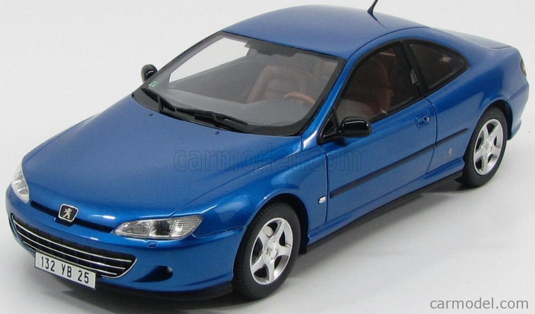 Otto Mobile Ot115 Scale 1 18 Peugeot 406 Coupe 2003 Blue Met