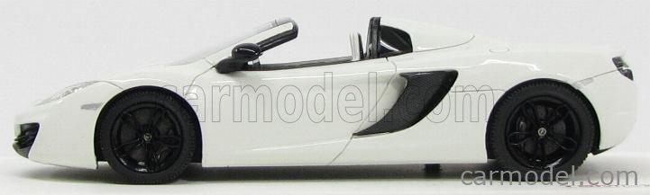 TRUESCALE TSM134335 Masstab: 1/43  McLAREN  MP4-12C SPIDER 2013 WHITE