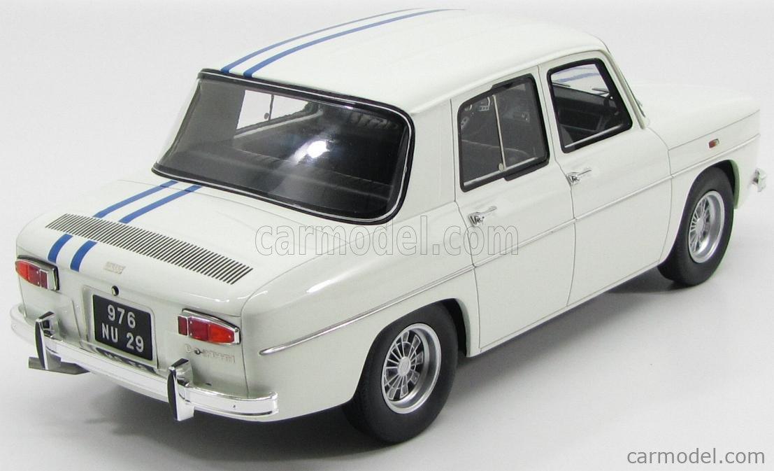 Otto Mobile Otg011 Scale 1 12 Renault R8 Gordini 1300 1966 White Blue