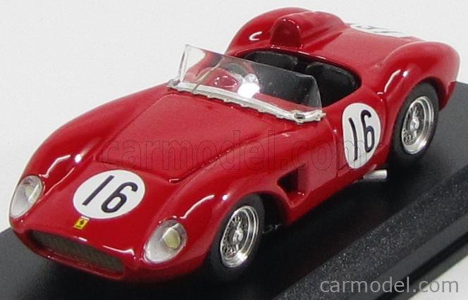 Art Model Art268 Scale 1 43 Ferrari 500trc Testarossa Spider N 16 Winner Virginia 1957 W Helburn Red