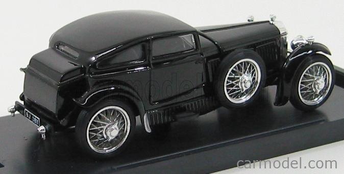 BRUMM R185 Echelle 1/43  BENTLEY SPEED SIX BLUE TRAIN MATCH 1928 BLACK